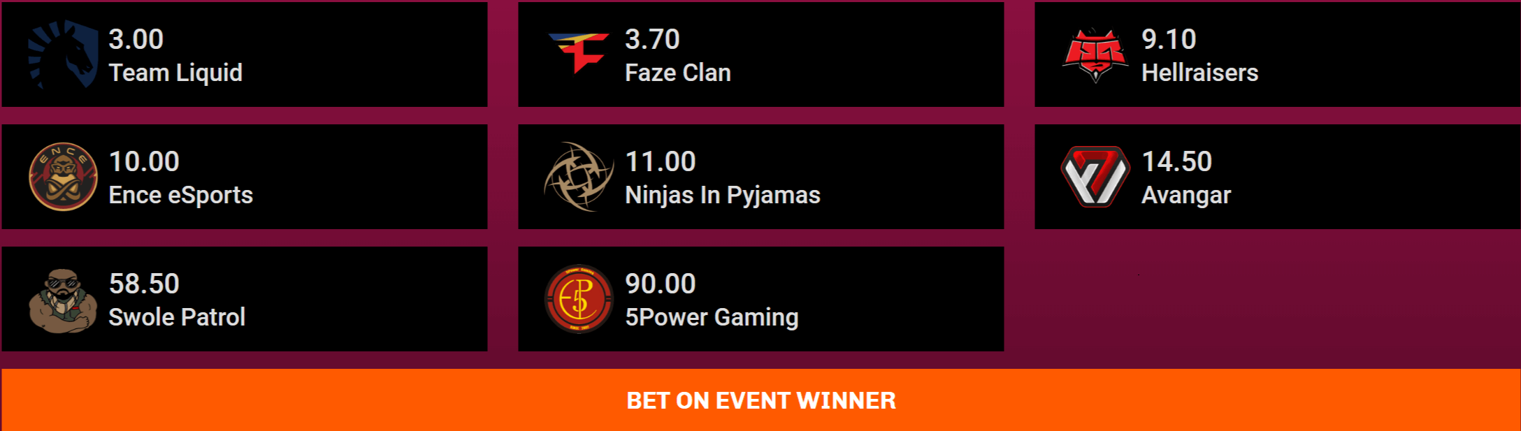 Epicenter 2018 - CS:GO Betting Odds, Tips & Predictions