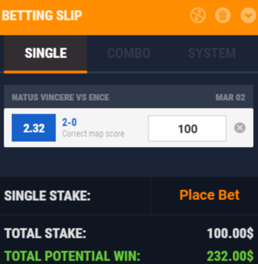 IEM Katowice 2019 Betting Prediction Natus Vincere - ENCE