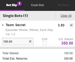 EPICENTER Major 2019 - Betting Odds, Tips & Predictions