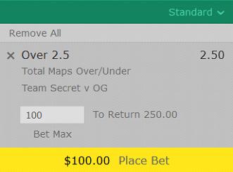 EPICENTER Major 2019 Betting Prediction - Team Secret vs OG